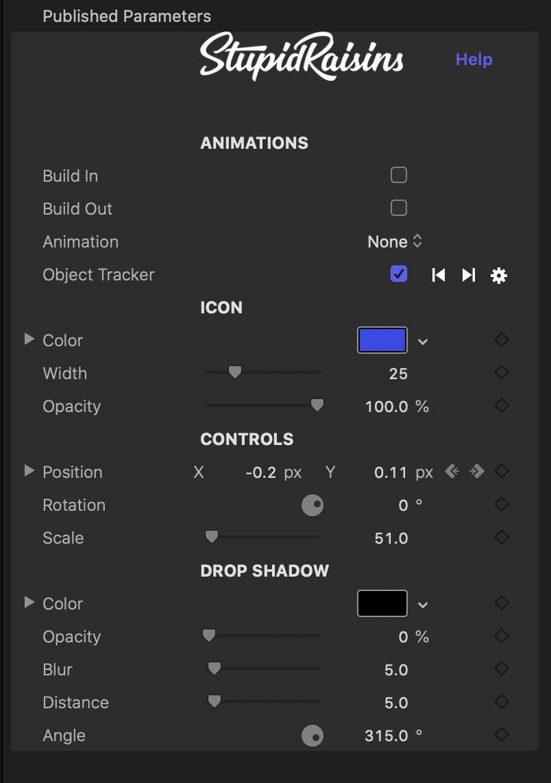 Icon Pop Parameters