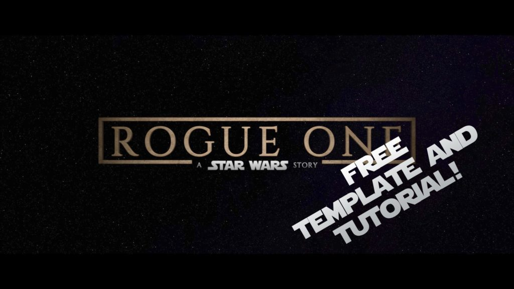 How to make Rogue One titles in FCPX