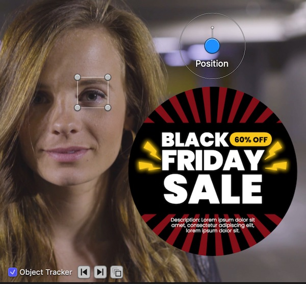 Sale Pop Motion Tracker Controls